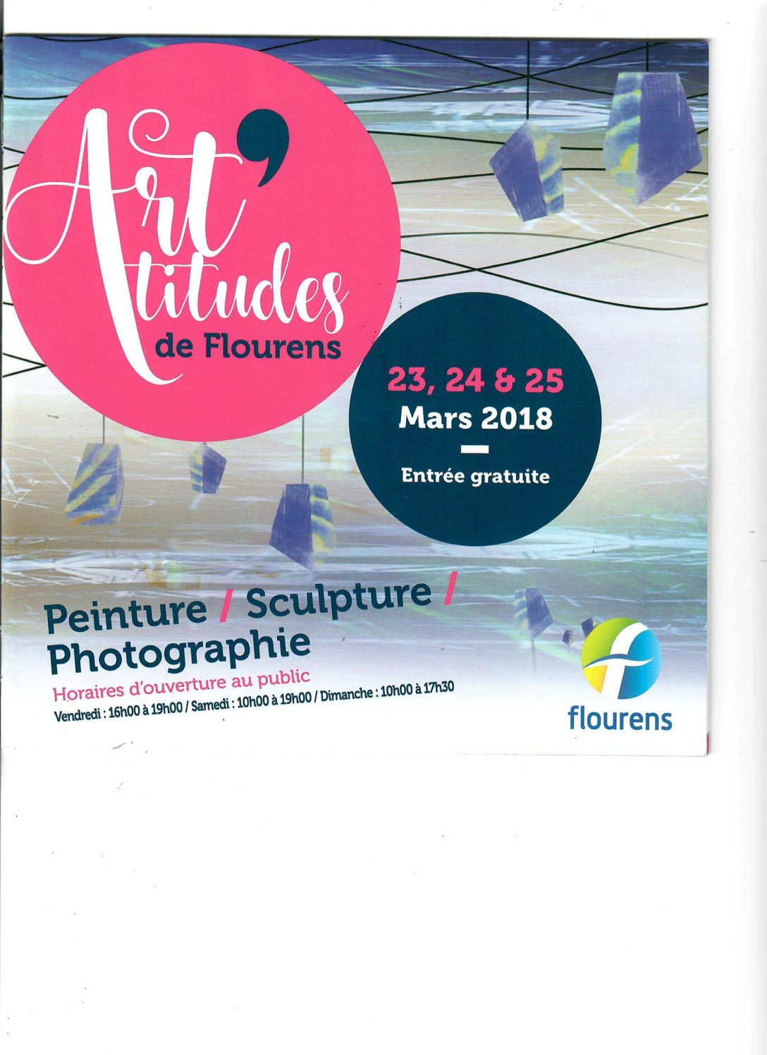 Mars 2018 : Les Art'titudes – Salon des Arts de Flourens (31)